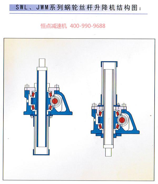 升降机结构彩图